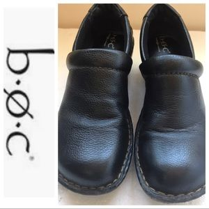 BOC Born Concept Leather Clog Size 7.5